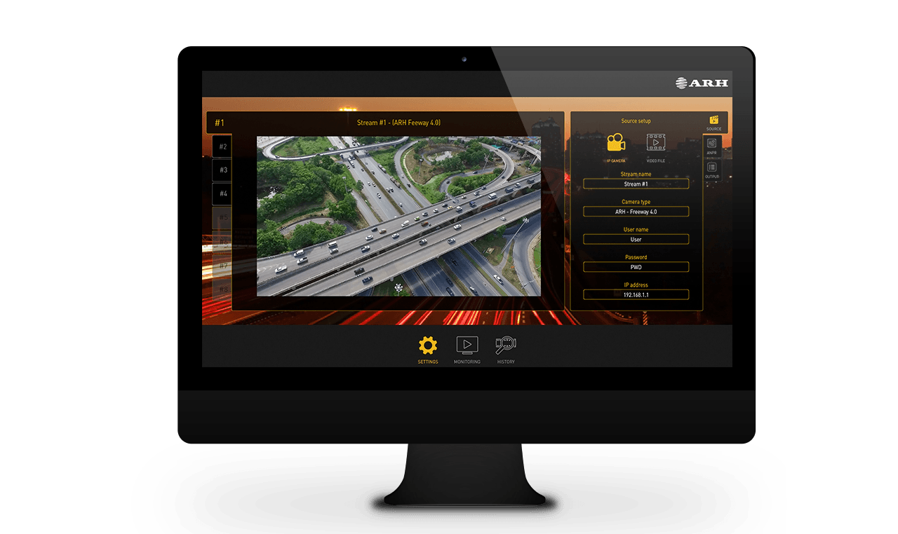 Plug & play ANPR software with easy-to-use user interface